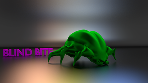 Blind Bite - Cycles Render by ninjatogo