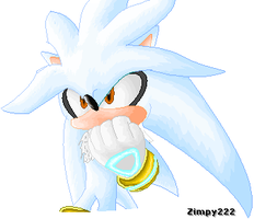 Silver the Hedgehog by zimpy222