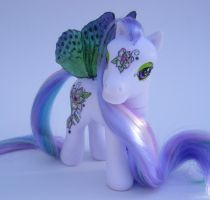 OOAK My Little Pony Magnolia by eponyart