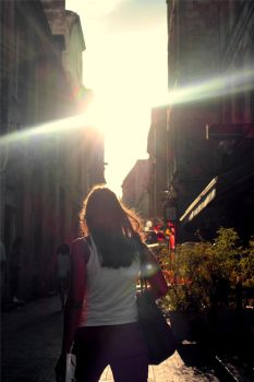 Sonne and Woman by Scharx