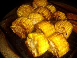 grilled corn by plainordinary1