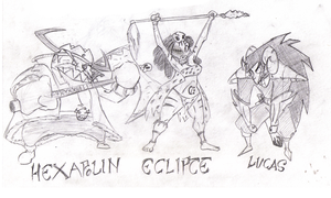 Rolling Swords: Los Chicos Malos-The Bad Guys by TheBrokenMonkey