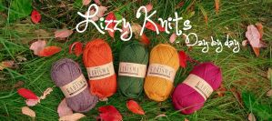Lizzy Knits - Autumn blog header by KnitLizzy