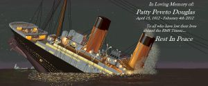 In Memory... RMS Titanic (From a friend) by SelahDeNoctiluca