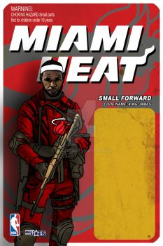 Front Lebron Card Art by mocjoes