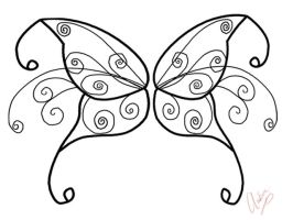 Butterfly Wings-Private Design by sintar