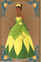 Tiana from Princess and the frog by LovesToMakeDolls