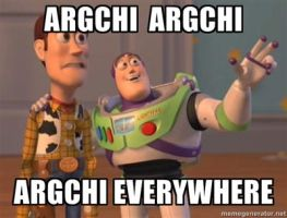 Argchi Argchi everywhere by heartless-katare