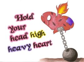Heavy heart by Stephy-McFly