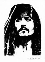 Johnny Depp - Posterized Jack by shaman-art