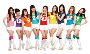 Render 5 - Girls Generation (SNSD) by Starphine