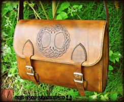 Tree of Life Satchel by Half-Goat