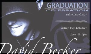 Grad Party Invite by Dave3of4