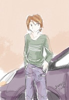 Kaji's car by sore-zore