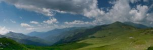 panorama in Rodnei by iacobvasile