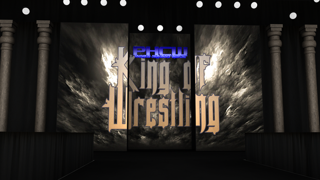 PHCW King of Wrestling Arena HD Concpet. 0001 by KingBearacuda185