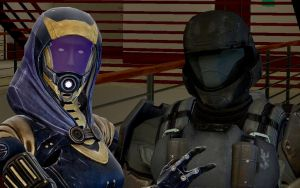Tali and Rookie by Joester264