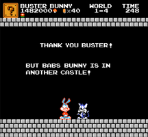 SMBC: Buster rescues Furrball (April Fools 2015) by X2011Racer