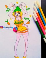Carrot one piece by FrzxGaze