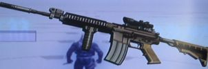 M4 with Scope and Grip B by 00Snake