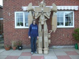 Me and my mate Optimus Prime by pwarner184