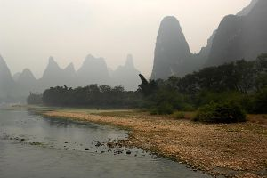 Mountains in mist - Guilin by wildplaces