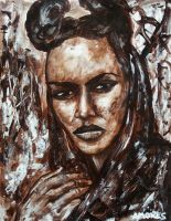 Grace Jones by amoxes