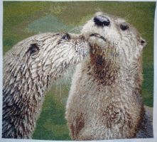 Otter Cross Stitch by BECKS80