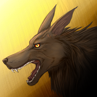Wolf,Dog Creature Head by Chaosthief