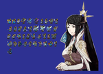 Fire Emblem Fates Mikoto Class Change Map Sprites by Blueyoshi005