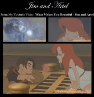 What Makes You Beautful - Jim and Ariel by OohFire