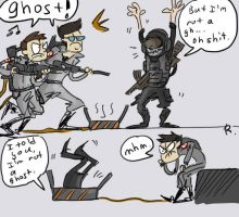Call of Duty MW2 - Ghost by Ayej