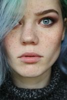Made myself some freckles today by milleviola