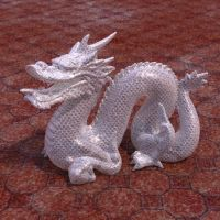Bubble-wrap Stanford Dragon fun by davidbrinnen