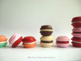 I Love Macarons by quaint-dame