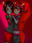 Allixdevi (Alex x Deven): dance by evillovebunny500