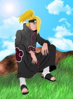 Deidara by Salty-art
