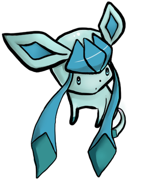 Little Glaceon by rain-storm
