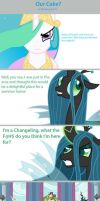 Our Cake? by Thundercracker417