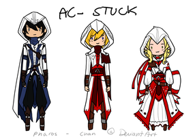 ASSASSIN'S CREED STUCK by Pharos-Chan