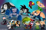 DC Bad Guys by vancamelot