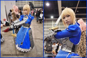 ACG HK 2014 - Fate Stay Night - Saber by leekenwah
