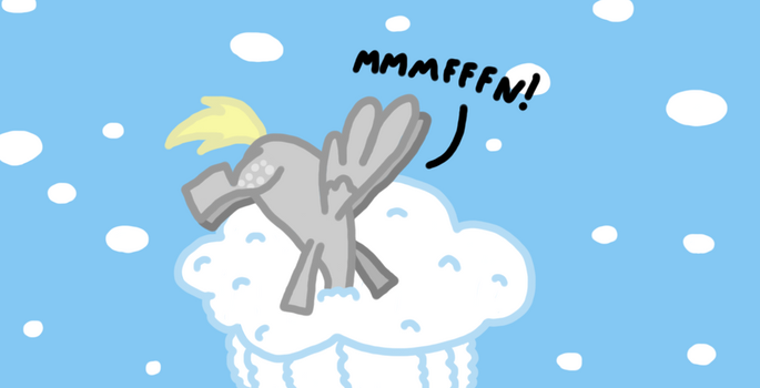 Derpy's Muffin Cloud by NerdChaos
