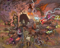 The DROWNINGDOOM ARMY by The-Architetcer