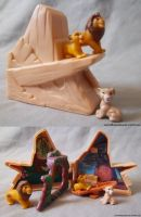 Mini Pride Rock Playset by rulerofthepridelands