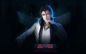 Aizen Sousuke - 100k pageviews by oione