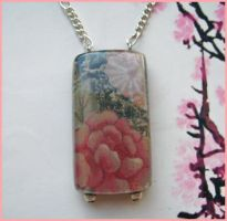 Pretty Flower Necklace +sold+ by txgirlinaz