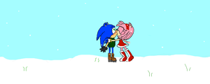 SonAmy Winter by sonamy-4eva
