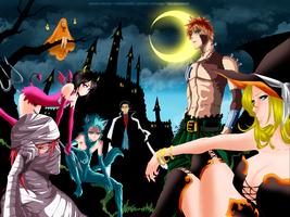Bleach - Halloween Collab by ANDERSON93