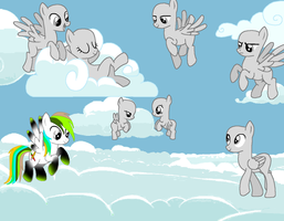 My Little Pony Collab #1! by Chaosaholic
